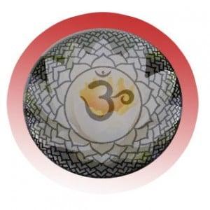 El símbolo de la flor de loto y el mantra Om Mani Padme Hum