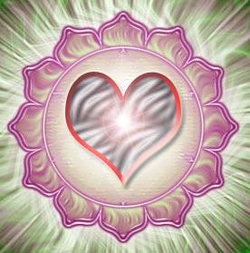 El centro de energía del amor