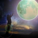 La luna llena y el amor