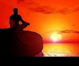 Meditar al atardecer para lograr tus propósitos
