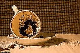 Leer la taza de café