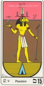 Característica del Tarot egipcio