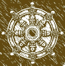 Transformar el karma:Rueda budista