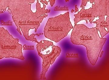 Las razas raíces de la Teosofía:continentes desaparecidos