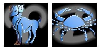 Compatibilidad del Signo de Aries con Cáncer
