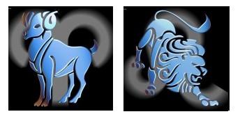 Compatibilidad del signo de Aries con Leo
