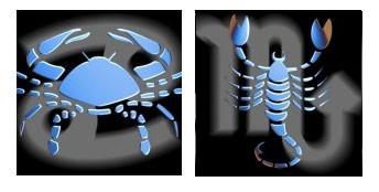 Compatibilidad del signo de Cáncer con Escorpio