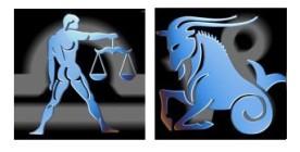 Compatibilidad del signo de Libra con Capricornio