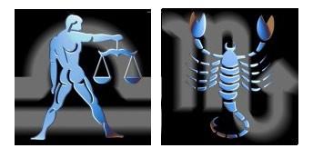 Compatibilidad del signo de Libra con Escorpio