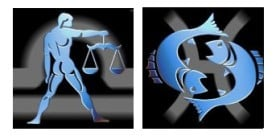 Compatibilidad del signo de Libra con Piscis