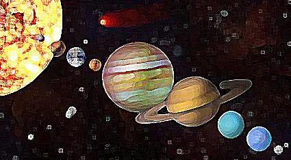 Los planetas en astrología