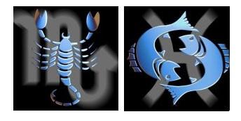 Compatibilidad del signo de Escorpio con Piscis
