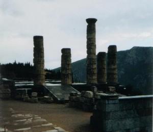 Oráculos antiguos:Ruinas de Delfos