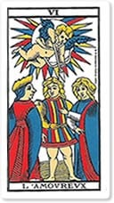 Interpretación del Tarot para el amor