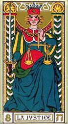 Significado del arcano mayor La justicia