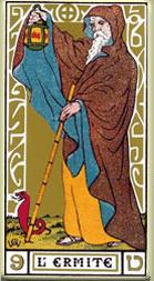 Significado del arcano mayor El ermitaño