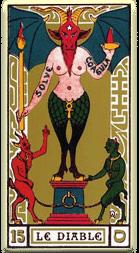Significado del arcano mayor El diablo