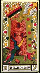 Significado del arcano mayor La torre