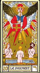 Significado del arcano mayor El juicio