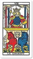 Significado del arcano mayor El carruaje