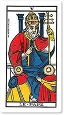 Significado del arcano mayor el Sumo Sacerdote