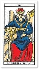 """Significado del arcano mayor """"La Emperatriz"""""""