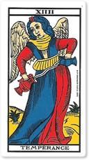Significado del arcano mayor La templanza
