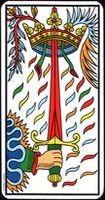 Significado de las espadas en el Tarot: arcanos menores