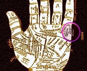 Signos del amor en la lectura de la mano
