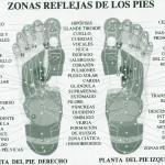 Reflexología de la planta del pie