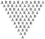 Abracadabra : Palabra mágica