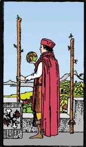 Significado del dos de bastos: arcano menor