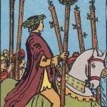 Significado del seis de bastos-arcano menor