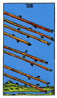 Significado del ocho de bastos-arcano menor