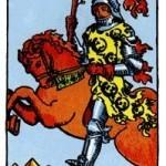 Significado del caballero de bastos-arcano menor