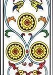 Significado del tres de oro-arcano menor