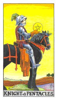 Significado el caballero de oros-arcano menor