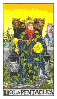 Significado del rey de oros-arcano menor
