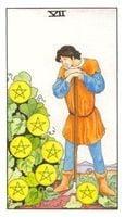 Significado del siete de oros-arcano menor