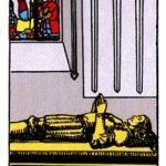 Significado del 4 de espadas-arcano menor