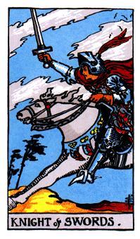 Significado del caballero de espadas-arcano menor