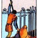 Significado del 6 de espadas- arcano menor