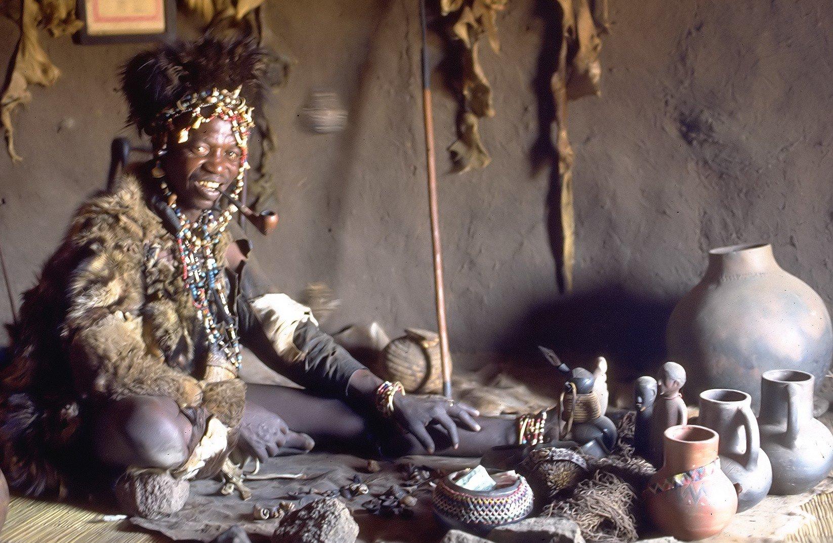 El poder de los chamanes: Nociones de brujería antigua