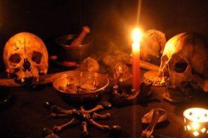 Elementos usados en magia negra