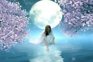 La luna en los signos de agua