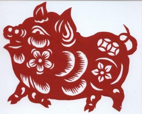 El Cerdo o Jabalí en el horóscopo chino