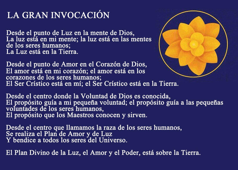 """""""La gran invocación"""" una oración para todo el mundo"""